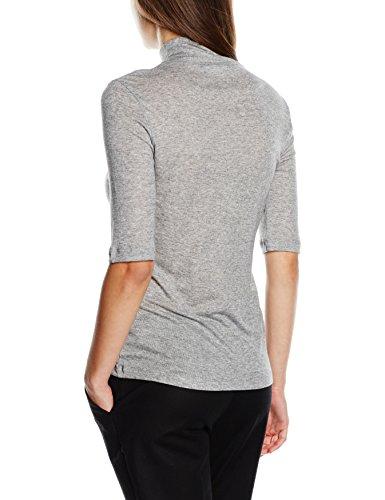 Filippa K Mid Sleeve Roller, Camiseta sin Mangas para Mujer Gris
