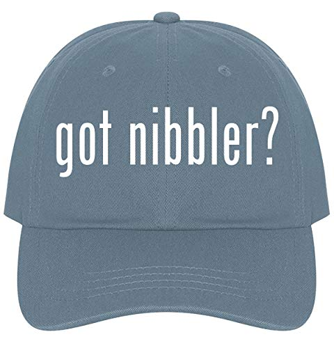 The Town Butler got Nibbler? - A Nice Comfortable Adjustable Dad Hat Cap, Light Blue