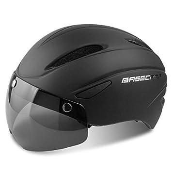 Leadfas Casco para bicicleta con certificado CE, casco de ciclismo ...