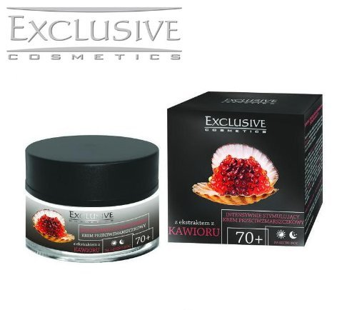 Exclusive Cosmetics with Caviar Extract Intensively Stimulating Anti Wrinkle Cream