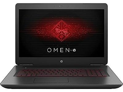 "HP 4771251 Omen 17-W151NR Gaming Laptop, INTEL:I7-6700HQ/CI7, 2.6 GHz, 512 GB, NVIDIA-GEFORCEGTX1070/8GB, Windows 10 Home 64 Bit, Black, 17"" (Certified Refurbished)"