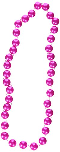Jumbo Party Beads (pearl pink) Party Accessory  (1 count) (1/Card)