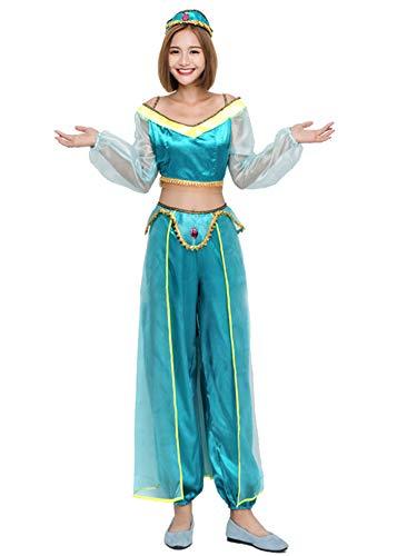 Tutu Dreams Women's Princess Jasmine Costumes (Medium) -