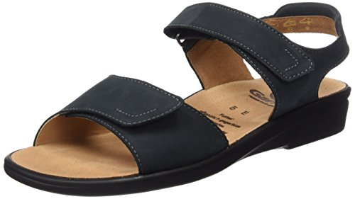 Ganter Sonnica, Weite E, Women's Open Toe Sandals Blue (Ocean 3000)