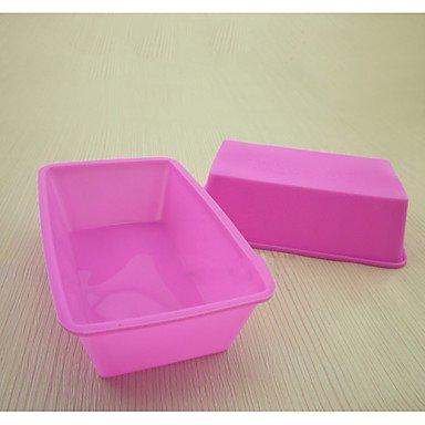 BST para horno de silicona para hacer bombones diseño de pudín de molde con papel de
