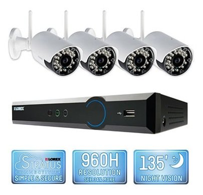 Lorex 4 Channel Wireless Security System with 500GB Hard ...