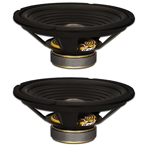 """Goldwood Sound, Inc. Stage Subwoofer OEM 10"""" Woofers 220 Watts each 8ohm Replacement 2 Speaker Set GW-210/8-2"""