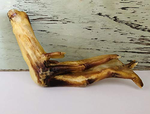 (Homemade All Natural Hardwood Smoked Dried Duck Feet, 5