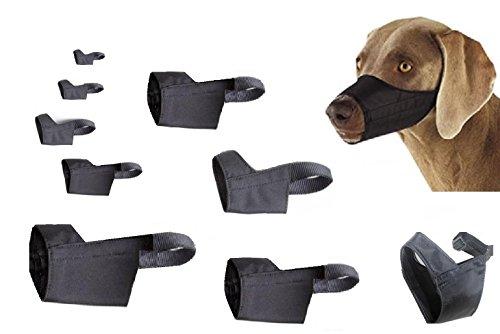 Muzzle Mesh Best Fit 3 (Downtown Pet Supply Quick Fit Dog Muzzle with Adjustable Straps, black nylon, Size 0, Size 1, Size 2, Size 3, Size 4, Size 5, Size 3 XL, Size 4 XL, or Size 5 XL (9 Pack))