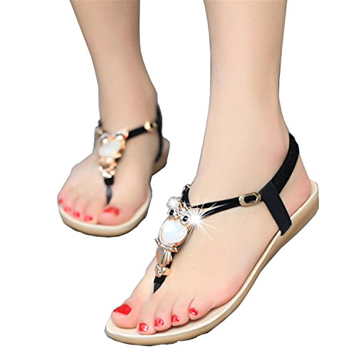 shoes shoes sandals women fashion NEW Rhinestone Black Summer sandals Women sandals women nxwBq1YRv8