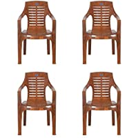 Nilkamal Mid Back Plastic Chair -Set of 4