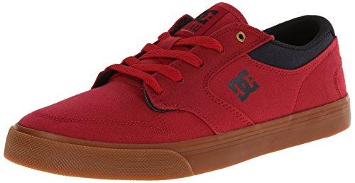Dc Shoes Nyjah Vulc Tx, Herren Baskets Rouge