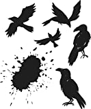 Stampers Anonymous CMS310 Tim Holtz Cling Stamps 7''X8.5''-Ravens