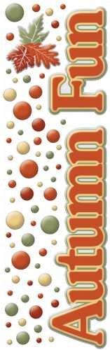 (Cloud 9 Rain Dot Dimensional Epoxy Stickers - Autumn Fun)