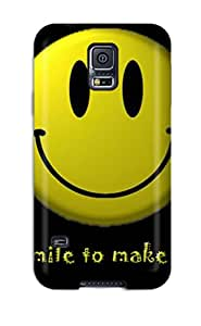 Awesome Design Funny Smiley Hard Case Cover For Galaxy S5