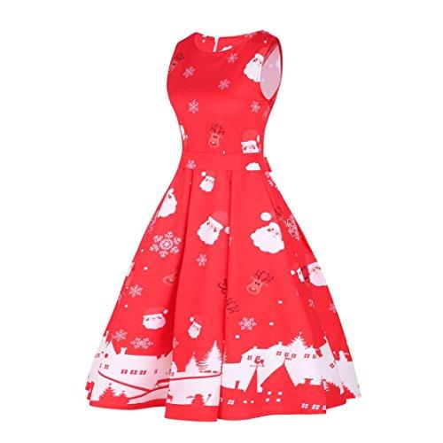Kleid rot weihnachten