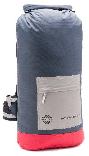 40L Borse Impermeabile Zaino Carbone - Aqua Quest RIO - Grande Sacco Robusto con Roll-Top Ideato per Escursioni, Campeggio, Pacchetto giornaliero