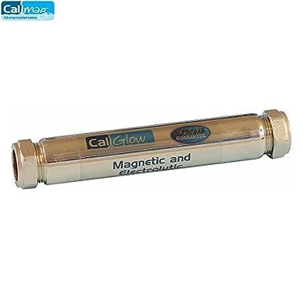 CalGlow - Inhibidor magnético y electrolítico en línea de 22 mm, caligrafía caligrafía, SI
