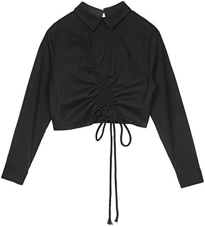XXIN /Manga Larga Camisas/Blusas De Manga Corta Camiseta Negra/Cabeza Niña/S/Negro: Amazon.es: Deportes y aire libre