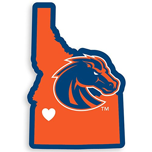 Gear State Boise Broncos (NCAA Boise State Broncos Home Decal, 5 Inch)