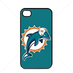 NFL American football Miami Dolphins Fans Case For Sumsung Galaxy S4 I9500 Cover PC Soft (Black)