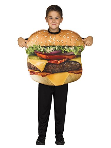 Burger Costume For Kids (Fun World Cheeseburger Costume, One Size,)
