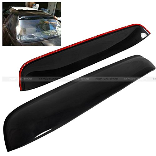 89-94 Nissan 240SX S13 Silvia Coupe Rear Roof Window Visor ()