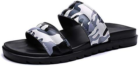 靴メンズカジュアルファッションプールスライドソフト快適なプラスチック製の夏のビーチスリッパ滑り止めフラットラウンドオープントゥスリップオン防水速乾性