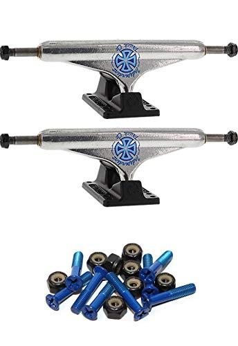 INDEPENDENT Milton Martinez Stage 11-149mm Standard Silver//Black Skateboard Trucks 5.87 Hanger 8.5 Axle with 1 Dark Blue Hardware