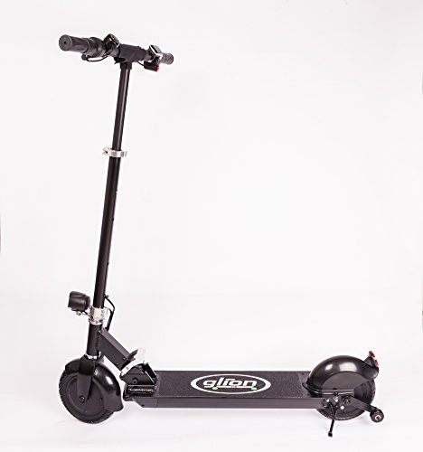glion dolly foldable lightweight adult electric scooter with li ion battery black buy online. Black Bedroom Furniture Sets. Home Design Ideas