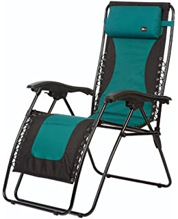 Superb Faulkner 48976 Laguna Style Dual Green Padded Recliner With Plastic  Armrests, X Large Part 16