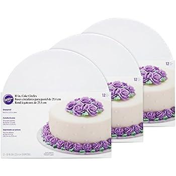 Wilton Cake Base White  Inch