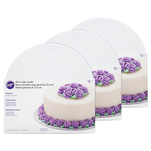 - Wilton Cake Boards - 10-Inch White Cake Circles, Set of 36