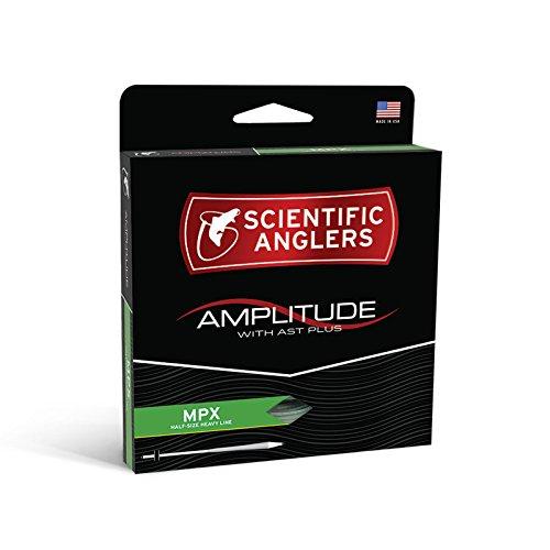 Scientific Anglers Amplitude Mpx Taper   Optic Green   Turtle Grass   Buckskin  Wf  5 F