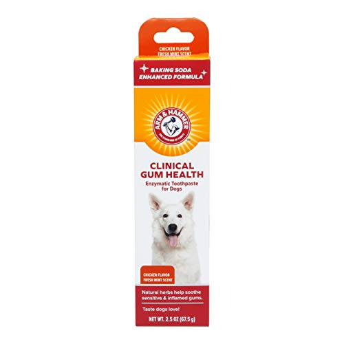 Arm & Hammer Clinical Gum Health Enzymatic Toothpaste for Dogs in Chicken Flavor, 67.5g