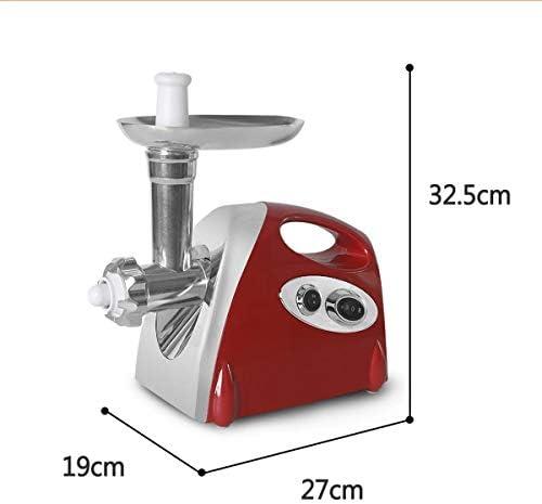 Hachoir à viande électrique Hachoir alimentaire saucisse Maker machine en acier inoxydable 2800W- 220 V au Royaume-Uni Matériel électrique professionnel