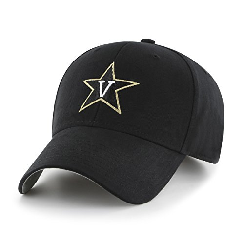 (NCAA Vanderbilt Commodores Children Cinch Ots All-Star MVP Adjustable Hat, Kids, Black)