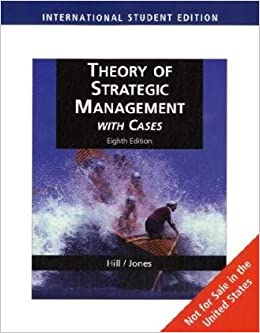 Theory of Strategic Management with Cases, International Edition