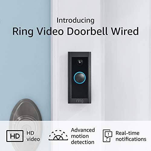 Introducing Ring Video Doorbell Wired – Convenient, crucial options in a compact design, pair with Ring Chime to listen to audio signals in your house (present doorbell wiring required) - 2021 liberate