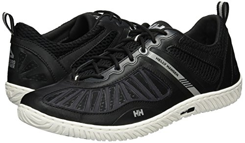 2017 Helly Hansen Hydropower 4 Sailing Shoe Jet Black 10832 Boot/Shoe Size UK - UK Size 12.5