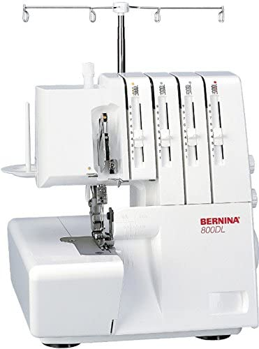 Bernina 8100000137613 - Máquina remalladora 800 DL: Amazon.es: Hogar