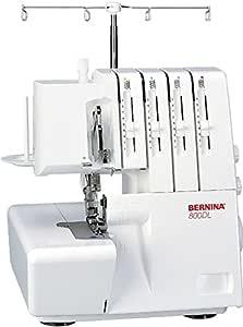 Bernina 8100000137613 - Máquina remalladora 800 DL: Amazon.es: Hogar
