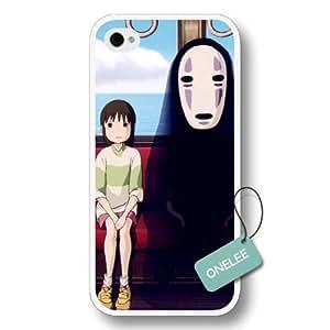 Onelee(TM) Spirited Away Hard Plastic iPhone 5/5s Case & Cover - Spirited Away iPhone Case & Cover - White
