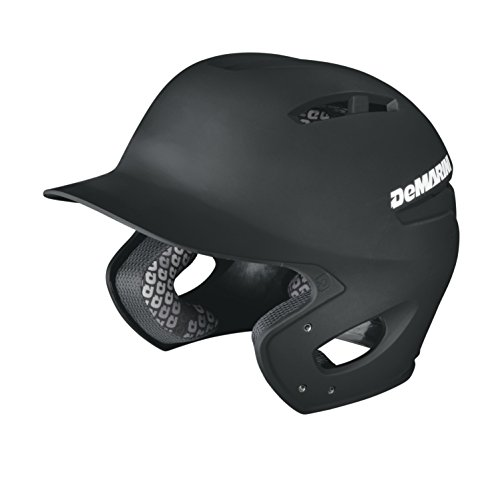 DeMarini Paradox Fitted Pro Batting Helmet Small (6 7/8 - 7), Black, Small (6 7/8 - 7) (Pro Batting Helmet)