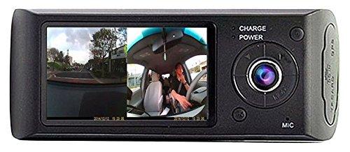 "UPC 646816710582, Car DVR,EEDI FULL HD 2.7"" TFT LCD Vehicle Car DVR Camera Video Recorder Dash Cam With G-Sensor+GPS Tracker + Google Maps Dual Len Vehicle View Dashboard Led Night Vision Wide Angle Camera"
