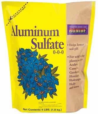 ALUMINUM SULFATE FOR SOIL