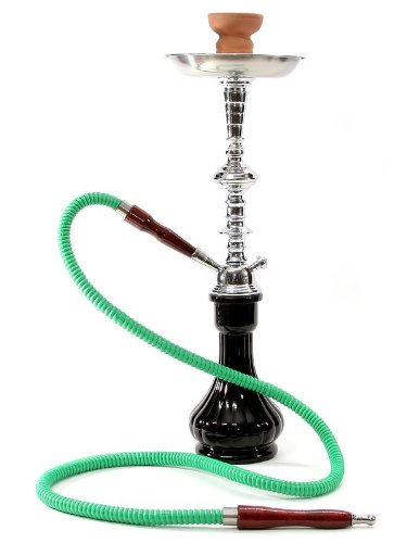 BLACK TEMPLE new hookah narguile water glass vase and pipes smoking shisha sale