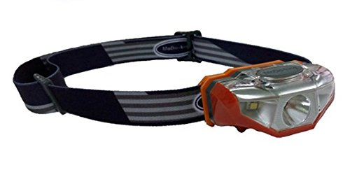 The New Revolution Headlamp - Half the Size and Weight with Double the Brightness and Battery Life Orange