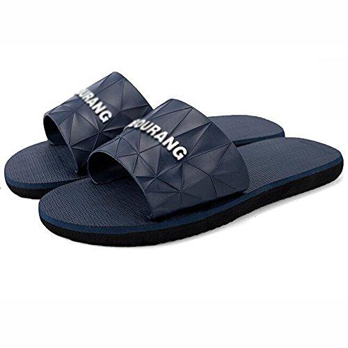 XIAOLIN Zapatilla Zapatillas de casa de interior masculino verano antideslizante sandalias de playa y pantuflas personalidad marea drag masculina (tamaño opcional) ( Color : 03 , Tamaño : EU42/UK8.5/C 04