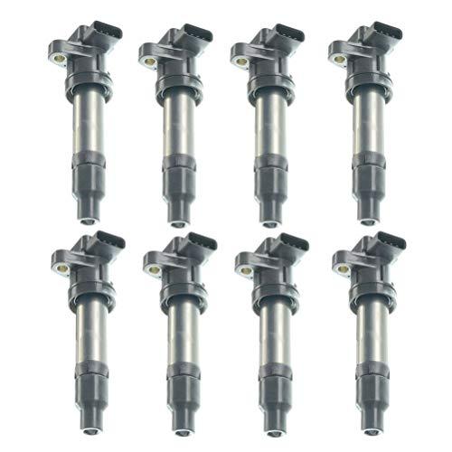 Set of 8 Ignition Coils Pack for Cadillac SRX STS DTS XLR Buick Lucerne V8 4.4L 4.6L